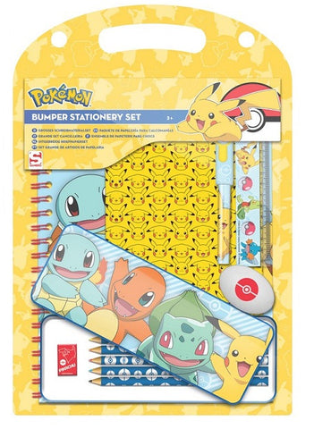 Pokemon Bumper Stationary Set - The Pokemart
