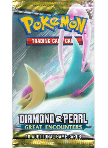 Diamond & Pearl — Great Encounters Booster Pack - The Pokemart