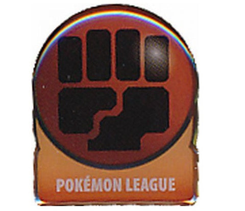 Fighting Energy Pin, 2008 Pokemon League Pin - The Pokemart
