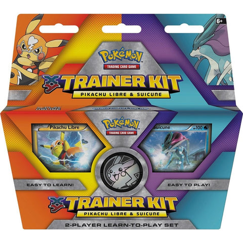 Pokémon TCG: XY Trainer Kit © 2016 Pikachu Libre and Suicune - The Pokemart