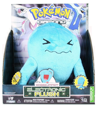Pokemon Wobbuffet Electronic Plush Diamond and Pearl - The Pokemart - 1