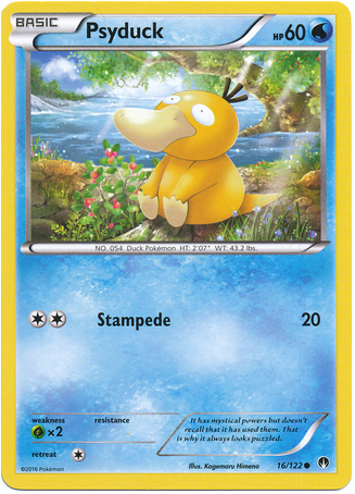 Psyduck 16/122 XY BREAKpoint - The Pokemart - 1