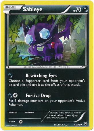 Sableye 44/98 XY Ancient Origins - The Pokemart - 1