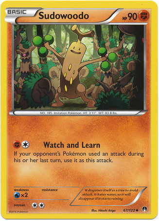 Sudowoodo 67/122 XY BREAKpoint - The Pokemart - 1