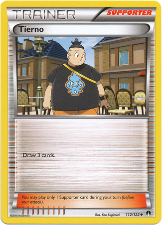 Tierno 112/122 XY BREAKpoint - The Pokemart - 1