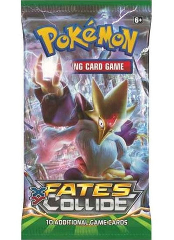 Pokemon XY Fates Collide Booster Pack - The Pokemart