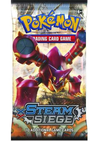 XY Steam Siege Booster Pack - The Pokemart