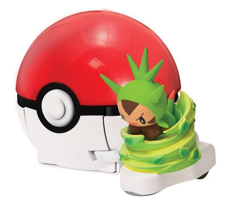 Chespin Pokémon Quick Attackers Playset © 2014 - Pokemon Toys & Collectibles - The Pokemart - 1
