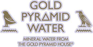 Gold Pyramid Water