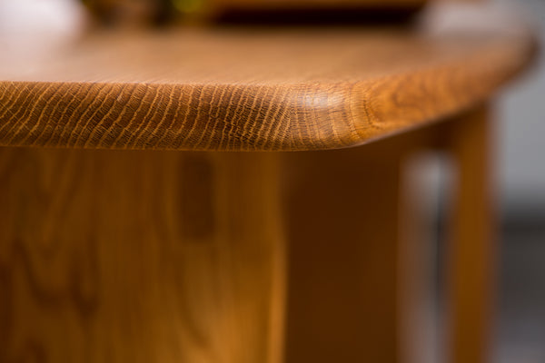White Oak Occasional Table (SOLD) - Natural Inspirations Woodworking