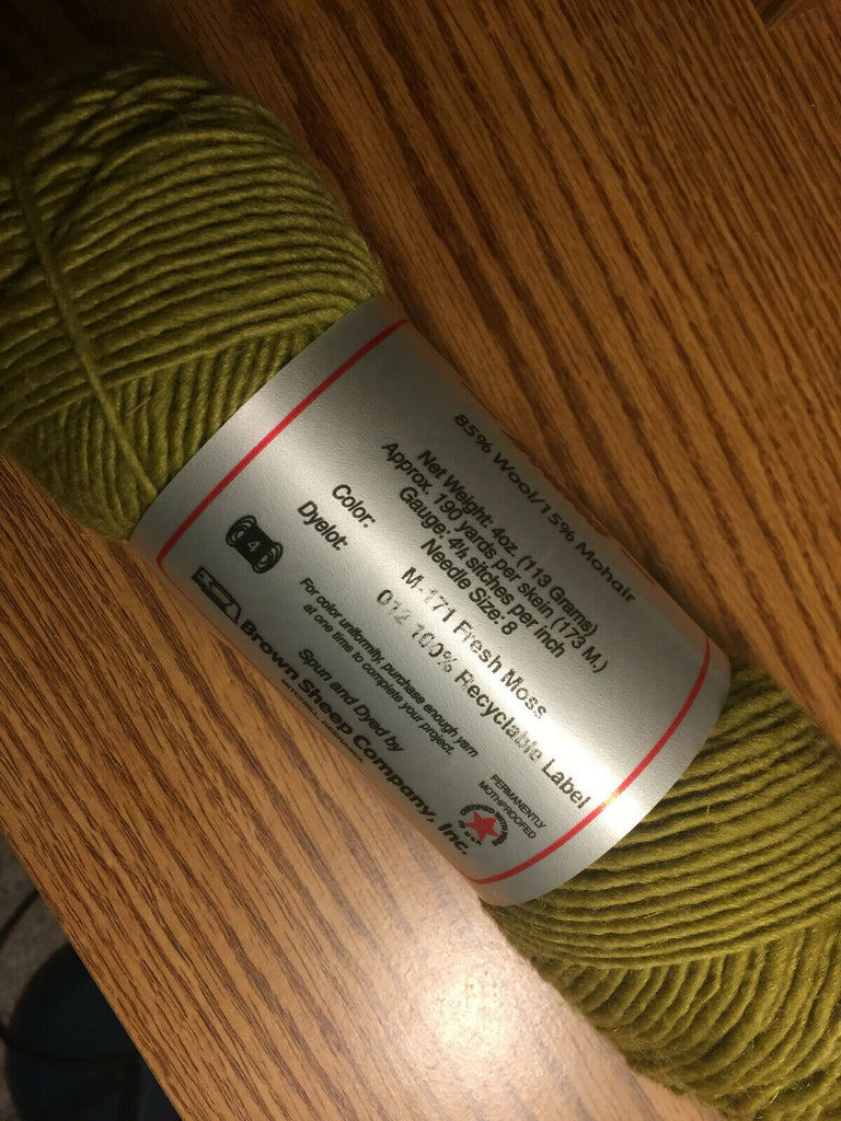 Brown Sheep Lamb's Pride Worsted - M171
