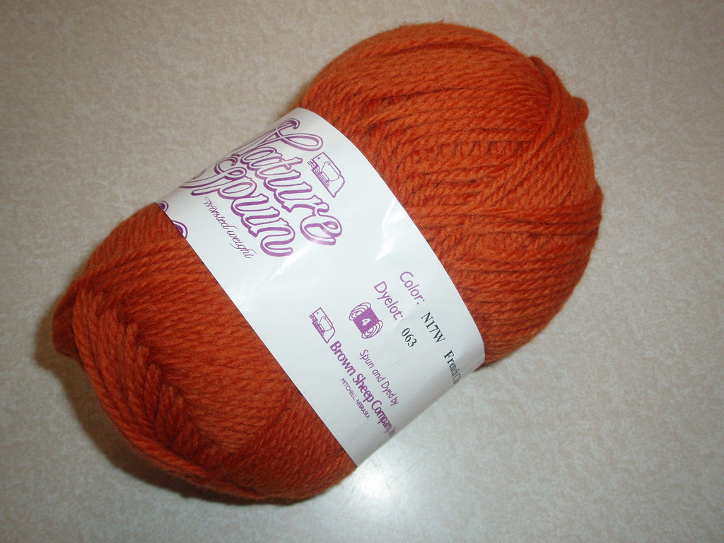 Brown Sheep Nature Spun Worsted N17W