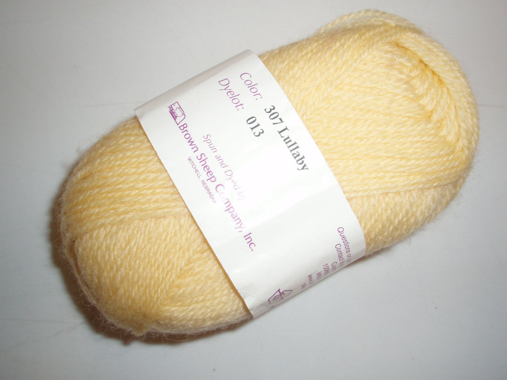 Brown Sheep Nature Spun Sport 307