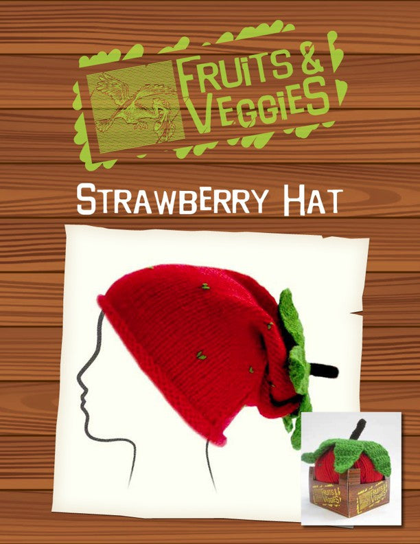 Fruits & Veggies Hat - Strawberry