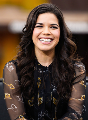 America Ferrera white teeth smile