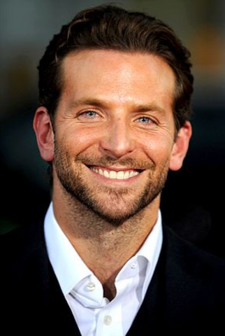Bradley Cooper white teeth smile