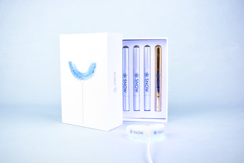 snow teeth whitening kit snowing tooth white smile