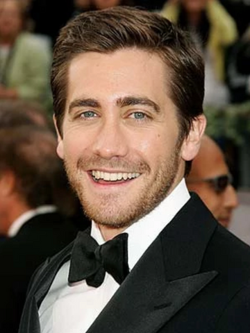 Jake Gyllenhaal white teeth smile