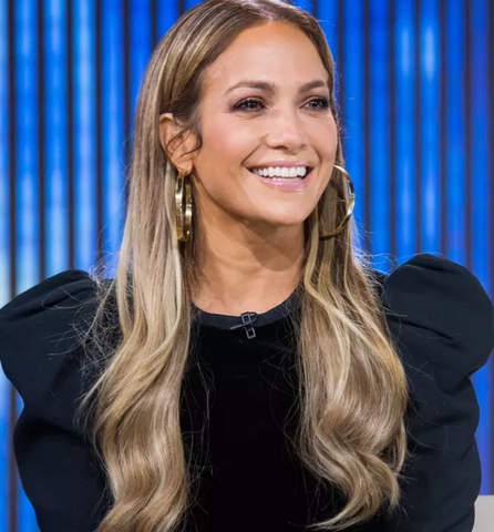 Jennifer Lopez white teeth smile