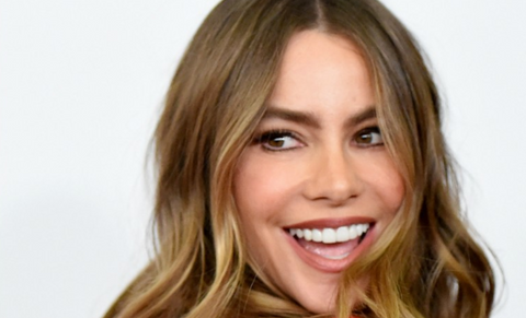 Sofia Vergara white teeth smile