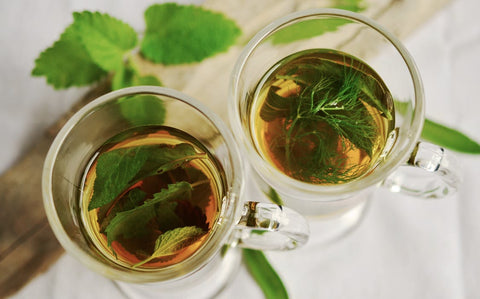 asian mint tea beauty secrets