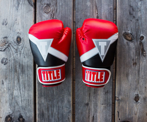 a pair of boxing gloves