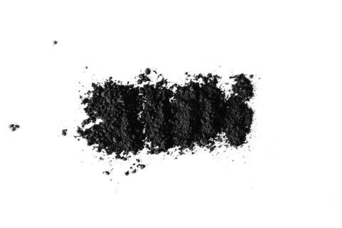 Activated charcoal power on table