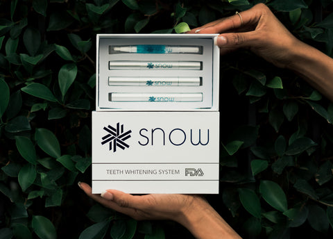 teeth whitening snow system