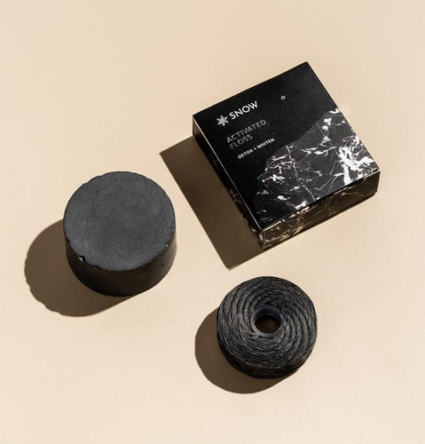 Activated Charcoal Floss