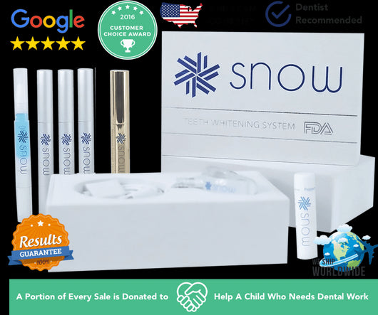 At-Home Teeth Whitener - Bck OFFICIAL All-in-One SNOW Teeth Whitening™ System [SALE]