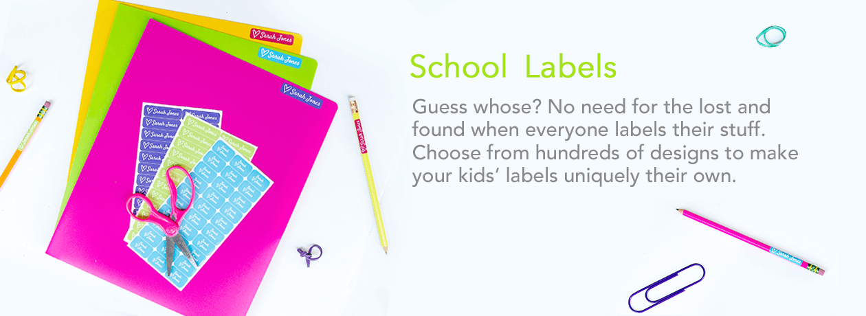 Kids Labels For School