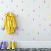 Raindrops Fabric Wall Decals