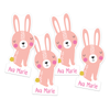 Bunny Die-Cut Labels
