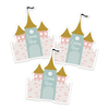 Once Upon A Castle Die Cut Name Labels