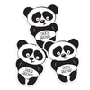 Bashful Panda Die Cut Name Labels