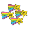 Shooting Star Die Cut Name Labels