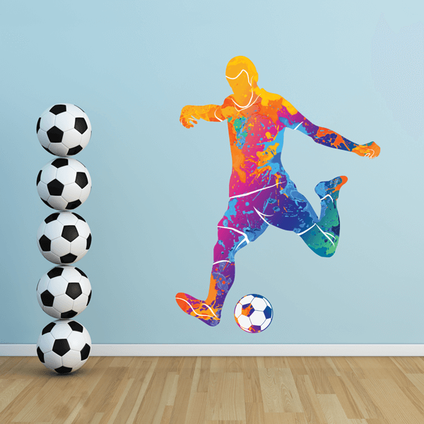 Bend It Soccer Decal Set