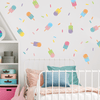 Pop Popsicle Fabric Wall Decals