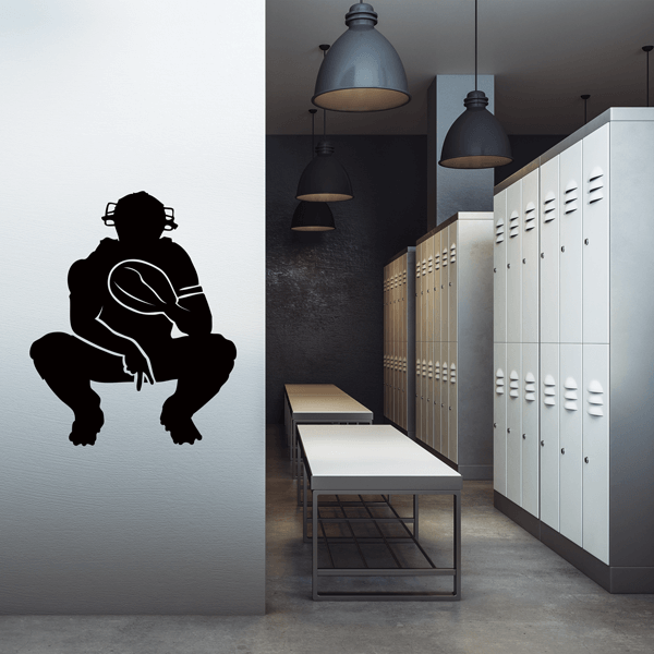 Catcher Wall Decal