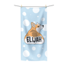 Corgi's Bum Beach Towel
