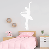 Vinyl En Pointe Pose Ballet Wall Decal