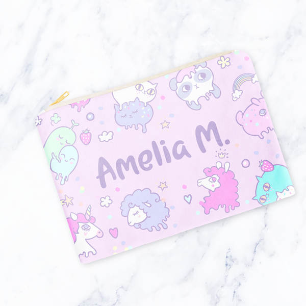 Cutie Blobs Carry-All Pouch