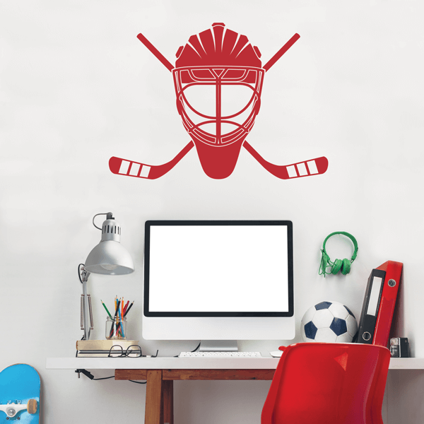 Goalie Life Wall Decal