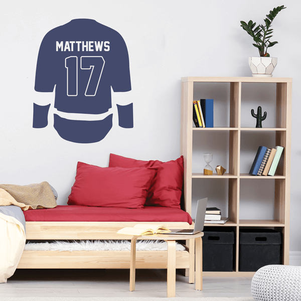 Hockey Jersey Wall Decal