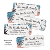 Winter Holiday Return Address Labels Design Number 4