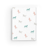 Equestrian Dreams Journal in White Back Cover