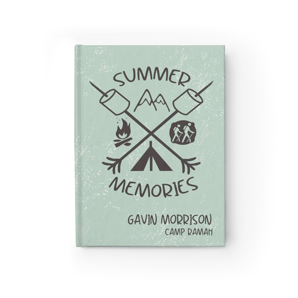 Smores N' Memories Journal in Mint Front Cover
