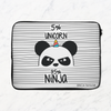 Panda Power Laptop Sleeve