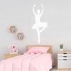 Vinyl Pirouette Pose Ballet Wall Decal