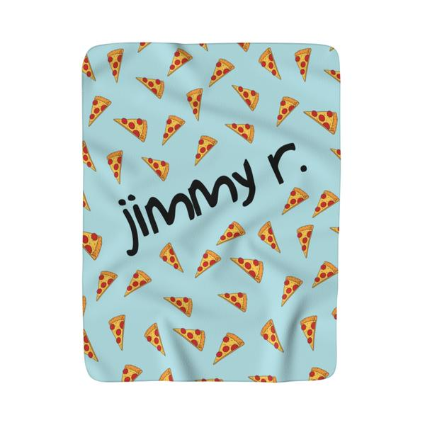 Pizza Lover  Fleece Blanket